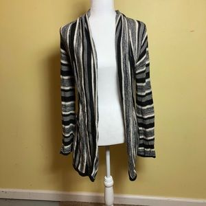 Black and white cardigan shrug